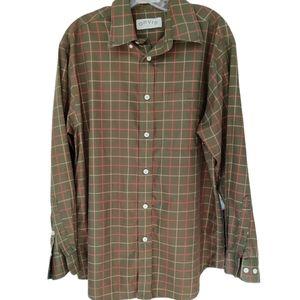 Vintage Orvis Button Down Shirt Men Size Medium